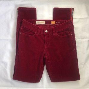 ANTHROPOLOGIE || PATL Stet Fit Corduroy Jeans